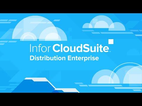 Infor CloudSuite Distribution Enterprise Overview