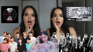 NON KPOP REACT TO KPOP PART 5 (jennie, Exo, Nct)