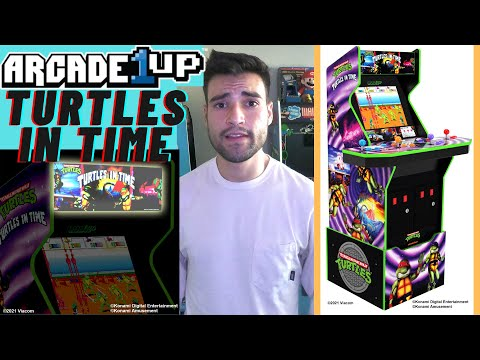 IS THE ARCADE1UP TEENAGE MUTANT NINJA TURTLES TURTLES IN TIME CABINET WORTH IT? from Brick Rod