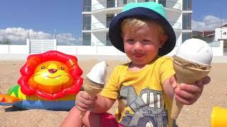 Lagu Anak Anak Es Krim | Ice Cream Song | Katya dan Dima Bahasa Indonesia
