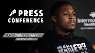 Josh Jacobs Knows How Dynamic Henry Ruggs III Can Be, Talks Passing Game | Las Vegas Raiders