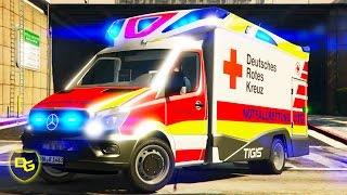 « BESTER Rettungswagen! » - GTA 5 Rescue Mod V - Deutsch - Grand Theft Auto 5