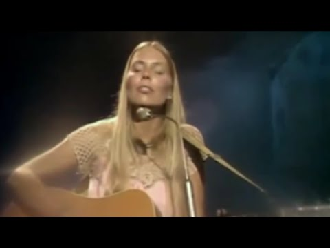 Joni Mitchell ~ Big Yellow Taxi +  Both Sides Now (BBC -  1969)
