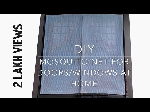 DIY | How To Make Removable Mosquito Net At Home