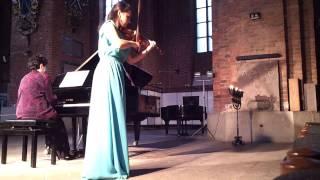 2. video.MUZIKĀLĀ OTRDIENA. Kamermūzikas koncerts.Rīgas Svētā Pētera baznīcā. 10.09.2013.