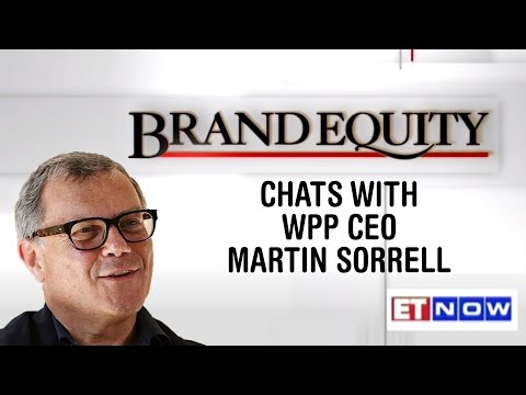 Brand Equity Chats With WPP CEO Martin Sorrell