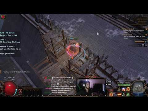 Path of Exile 3.0 BETA - RF Berserker - Leveling is stupid easy