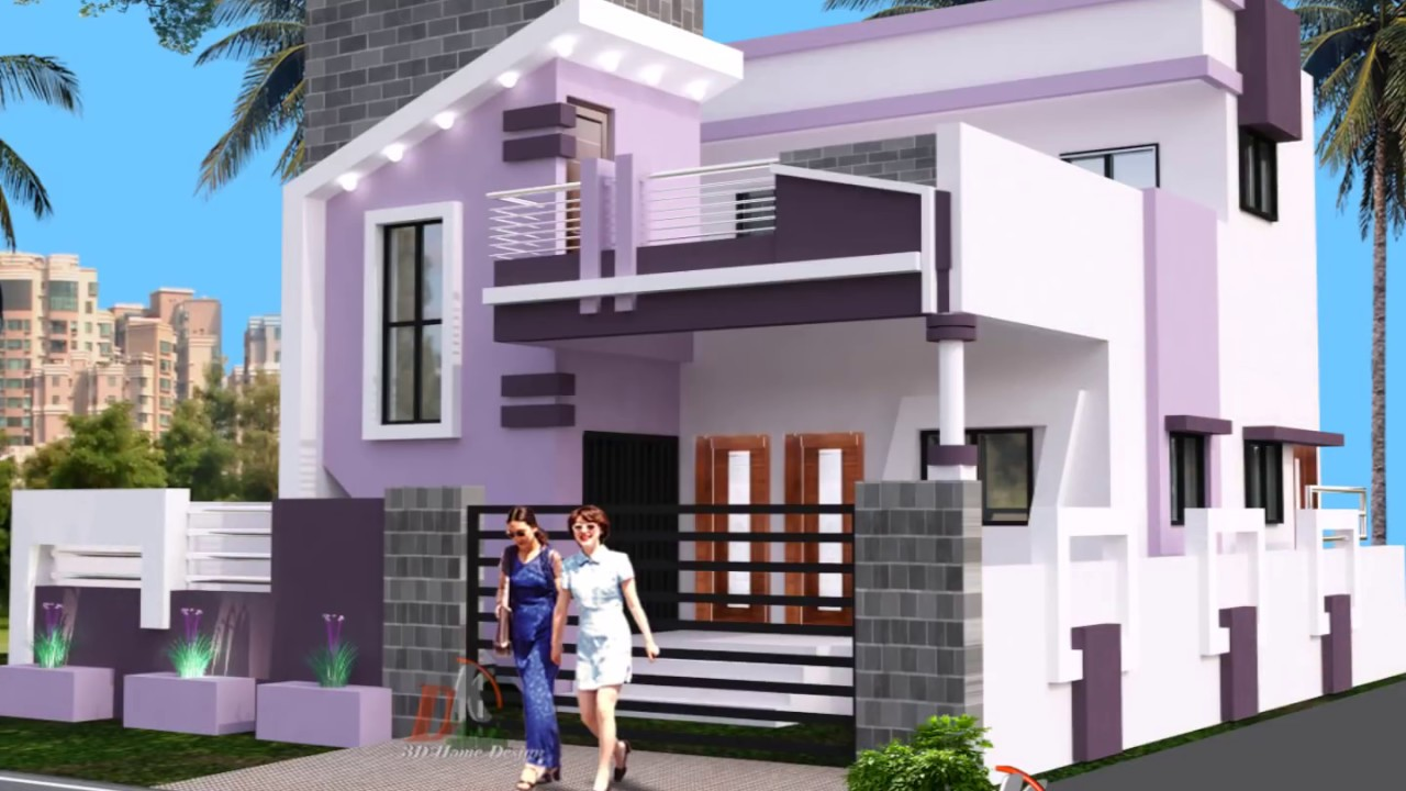 Home Front Elevation Colour : Colour combination for your sweet home youtube