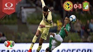León se impone ante las águilas | América 0 - 3 León | Clausura 2019 - J6 | Televisa Deportes