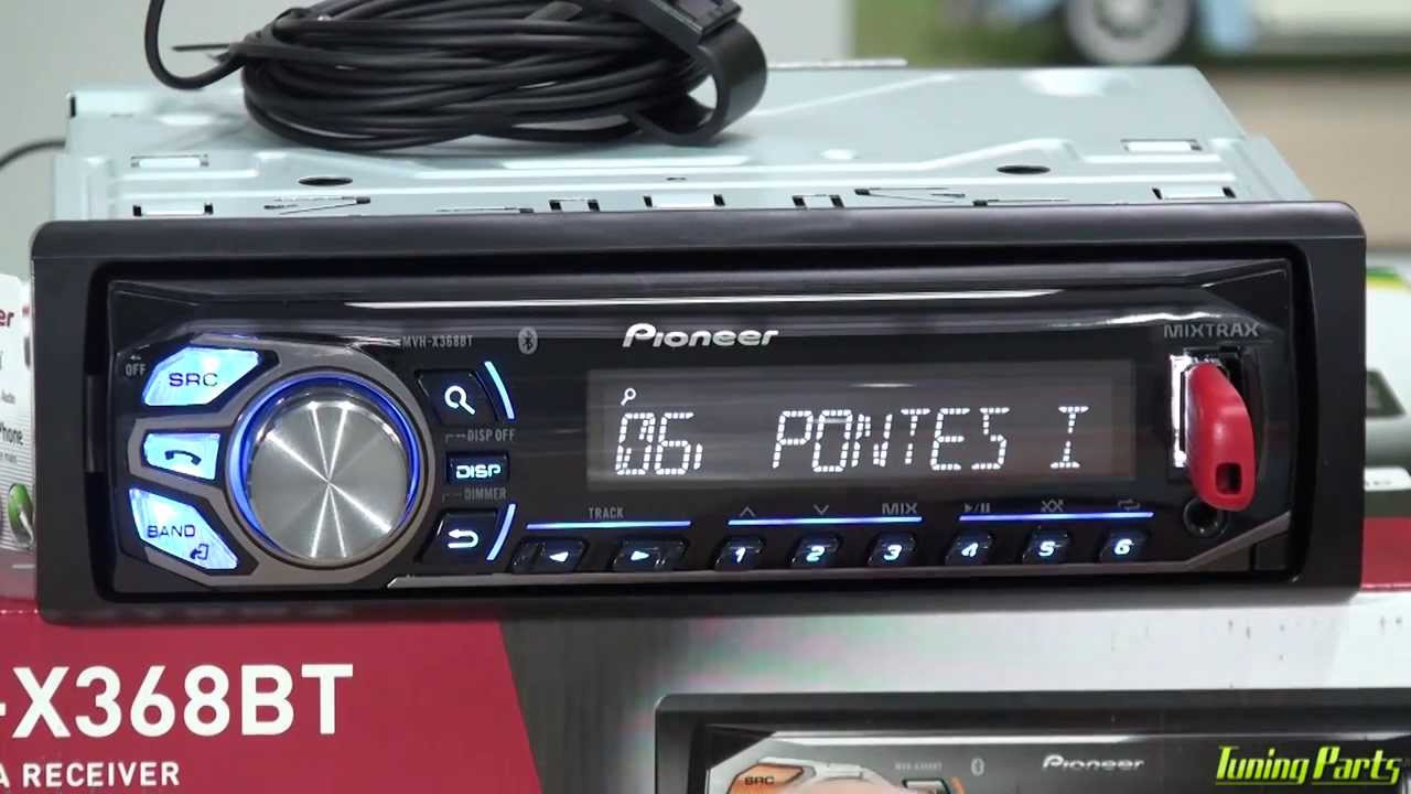 Pioneer Mvh-x368bt - Demonstra U00e7 U00e3o Do Media Receiver