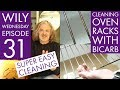 Wily Wednesday 31 - Cleaning Oven Racks Easily with a Bicarb Bath
