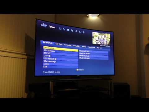 Add Additional Channels to your Sky Box!