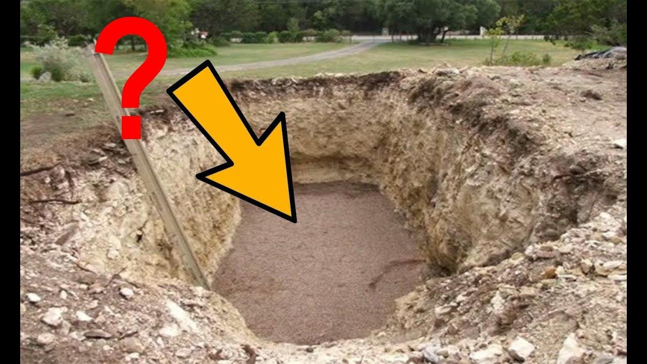 Make a huge hole