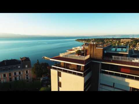 Stunning penthouse apartment for sale in Thonon-les-Bains, Lake Geneva