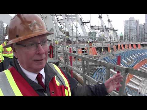 BC Place Tour: Interview with David Podmore