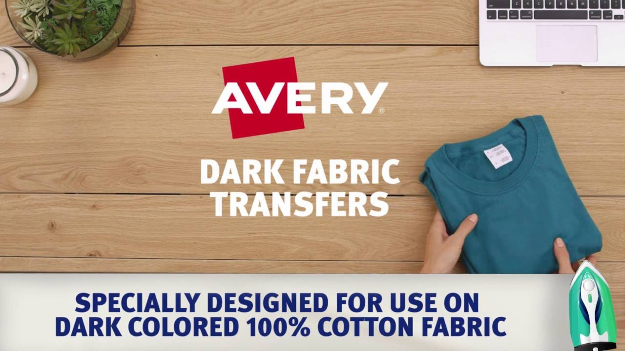 T Shirt Transfer Paper - Avery T-Shirt Transfer Paper & More!