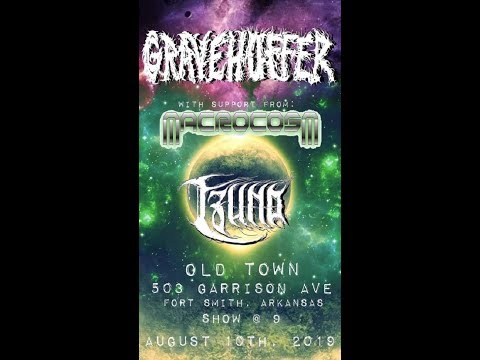 Gravehuffer - Live at Old Town - Fort Smith, AR - 08/10/19