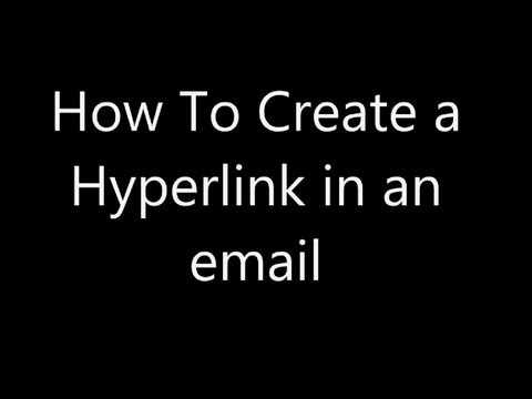 How To Create a Hyperlink in an Email - GoldenYearsGeek.com
