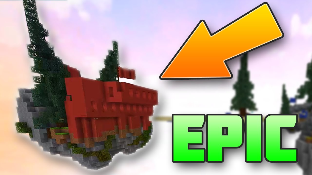 LOOK AT THIS EPIC BASE Minecraft BedWars YouTube