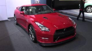 Godzilla Updated – 2012 Nissan GT-R at the 2010 LA Auto Show