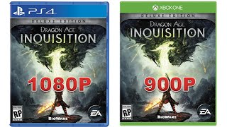 Dragon Age: Inquisition 1080P on PS4 - CrapgamerReviews Caught Lying Again