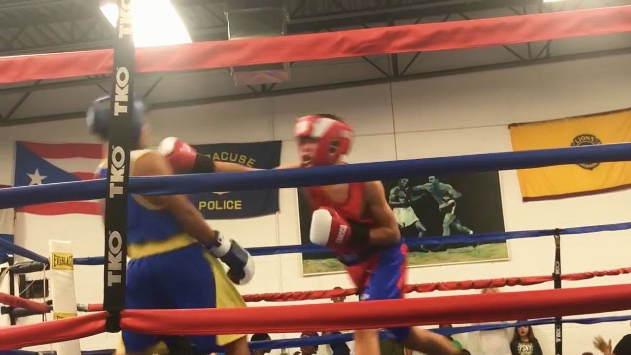 Crazy Amateur Boxing Fight Gone Wild