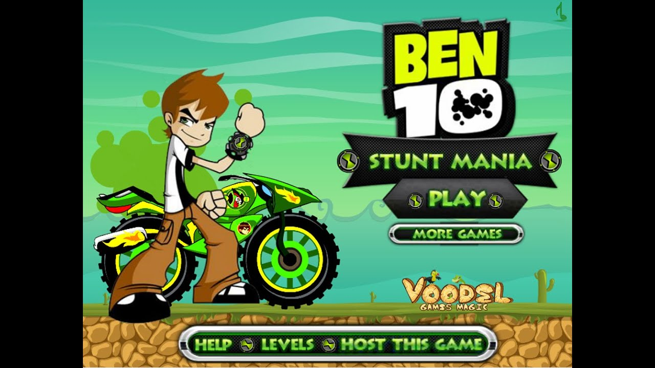 Ben 10 3d Racing Online Game For Boys Free Online Cars