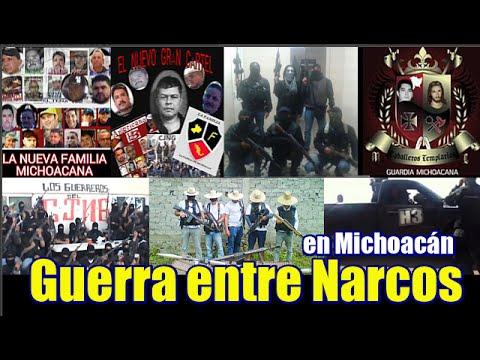 Guerra de Narcos en Michoacán