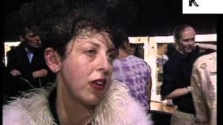 1990s Profile of Milliner Philip Treacy, Isabella Blow