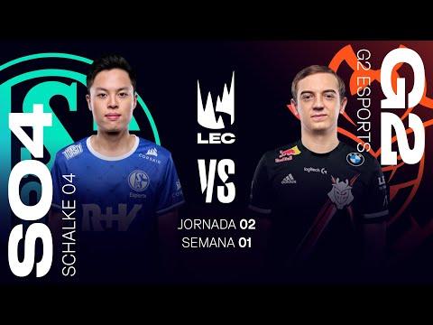 SCHALKE 04 VS G2 ESPORTS | LEC Summer split 2021 | JORNADA 2  | League of Legends