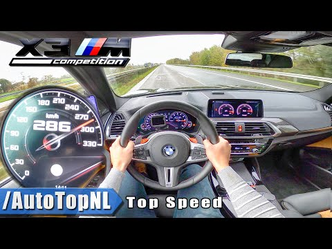BMW X3M COMPETITION 510HP | TOP SPEED 286km/h AUTOBAHN POV (NO SPEED LIMIT!) By AutoTopNL