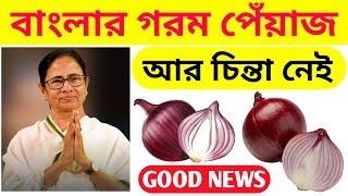 পেঁয়াজ সিদ্ধান্ত নবান্ন সূত্রের খবর | West Bengal Onion Rate | Ration New Update