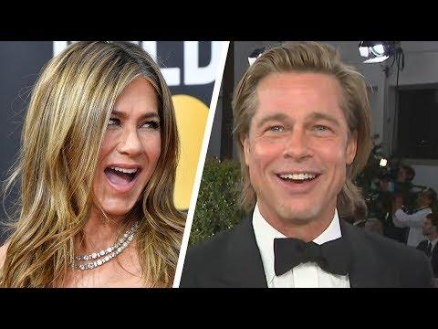 Brad Pitt Calls Jennifer Aniston a 'Good Friend' as Both Attend 2020 Golden Globes