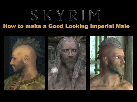 Good Looking Skyrim Character
