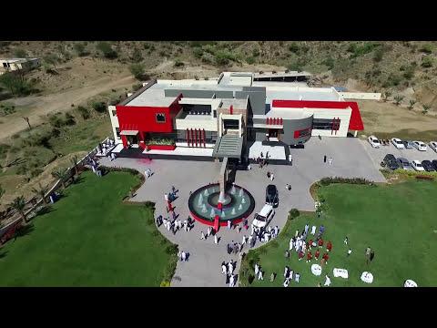 Qasr e Younis Wedding Hall Drone View (Dadyal Mohra Kanyal Mirpur Azad Kashmir)