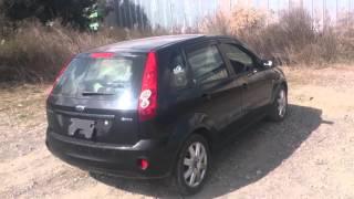 Видео-тест автомобиля Ford Fiesta (черный, 1,6, 2006г., WF0HXXWPJH6J76678)(Автомобиль куплен на аукционе в Японии в рабочем состоянии, что показывает видео-тест. Вы можете заказать..., 2016-02-18T09:02:50.000Z)