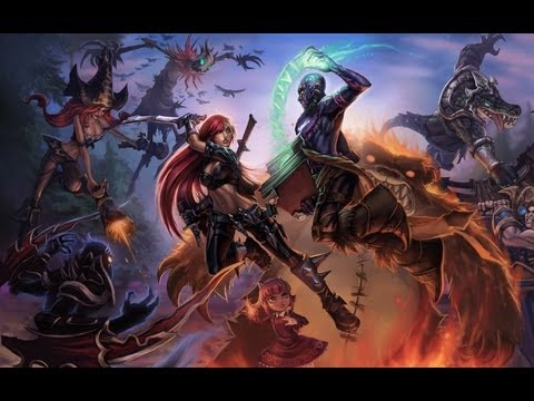 видео: Китайский league of legends ОМГ=)