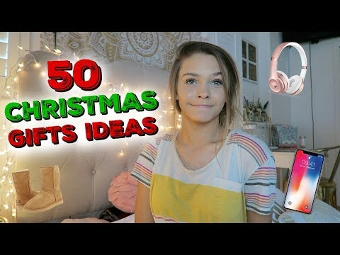 50+ CHRISTMAS GIFT IDEAS!