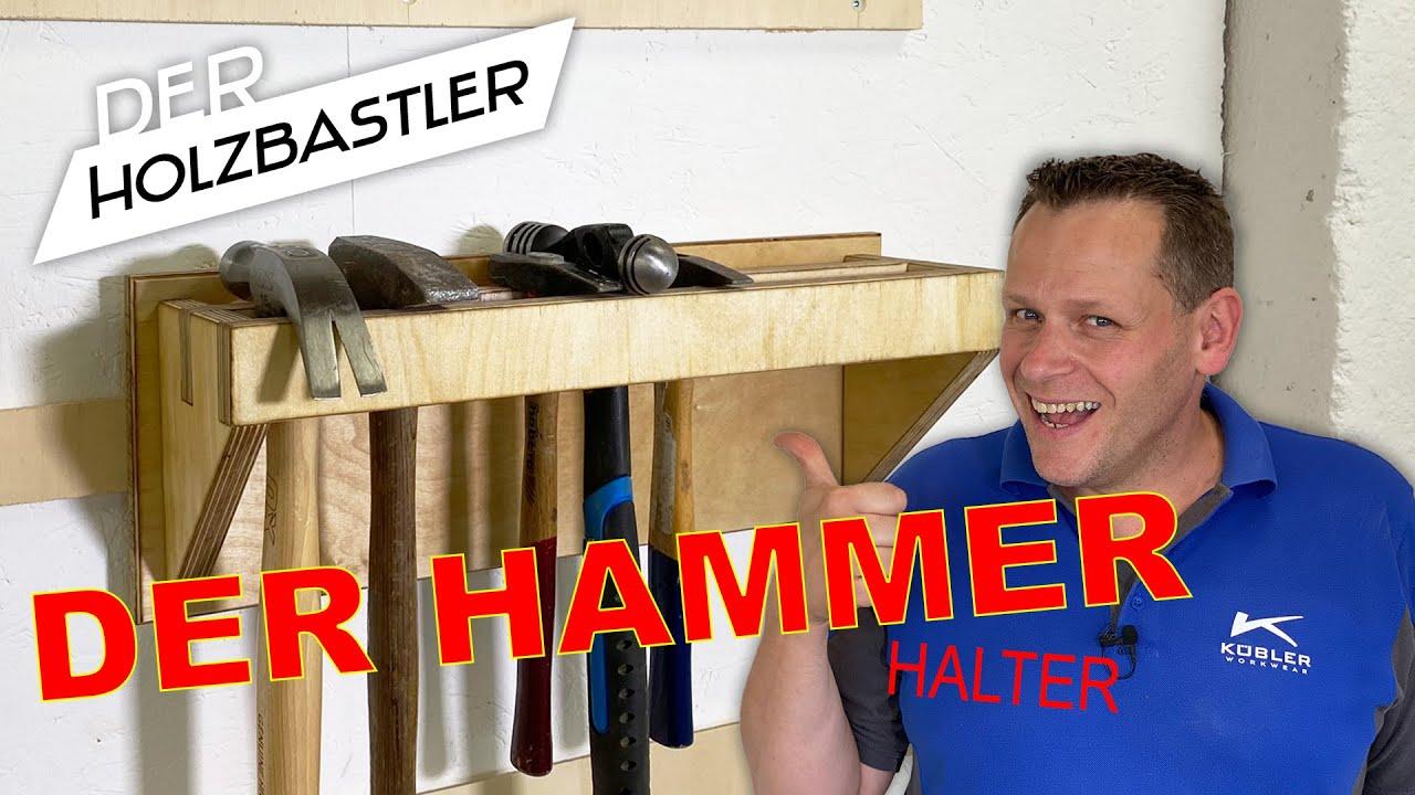 Hammerhalter für die French-Cleat-Wand
