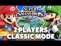 Super Smash Bros. Wii U - Mario & Luigi Classic Mode [1080p HD]