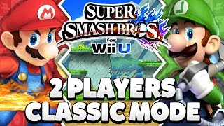 Super Smash Bros. Wii U - Mario & Luigi Classic Mode [1080p HD]