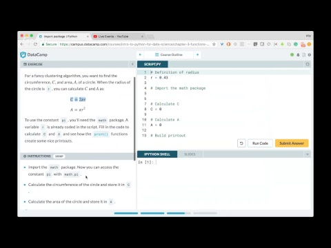 Learn Python for Data Science - Data Camp course Part 2