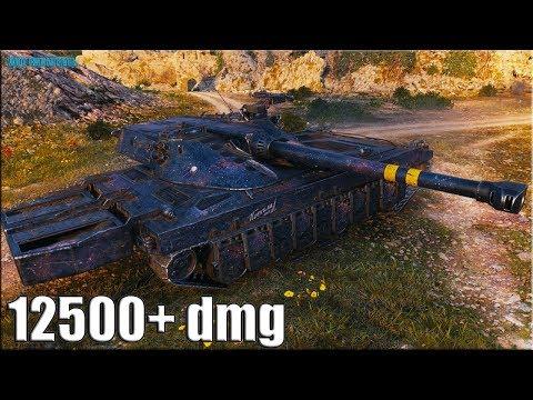 12к урона на ст Швеции ✅ UDES 15/16 World of Tanks