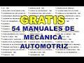 ?GRATIS 54 MANUALES DE MECANICA AUTOMOTRIZ