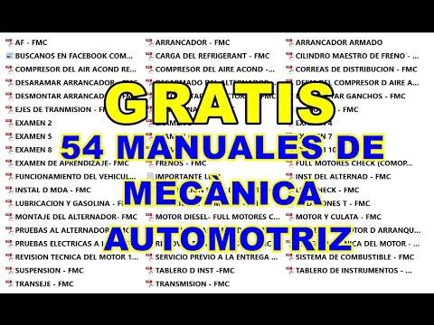 Mechanic manual free descarga manuales de mecanica para autos.