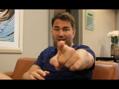 'WHEN AS I LOSE THE PASSION, ILL WALK AWAY FROM BOXING' -EDDIE HEARN GOES DEEP ON LIFE *RAW & UNCUT*