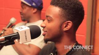 The Connect Radio Show - Algee Smith Interview Pt. 2 - August 6, 2015