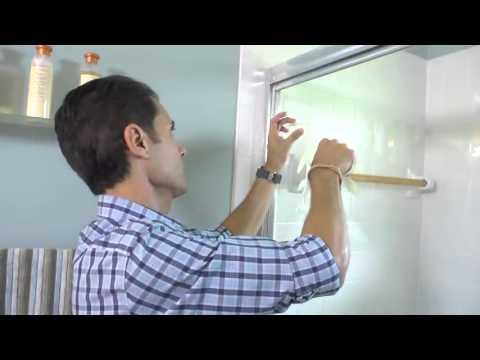 Ba o chic c mo decorar las puertas de cristal youtube - Decorar cristales de puertas ...