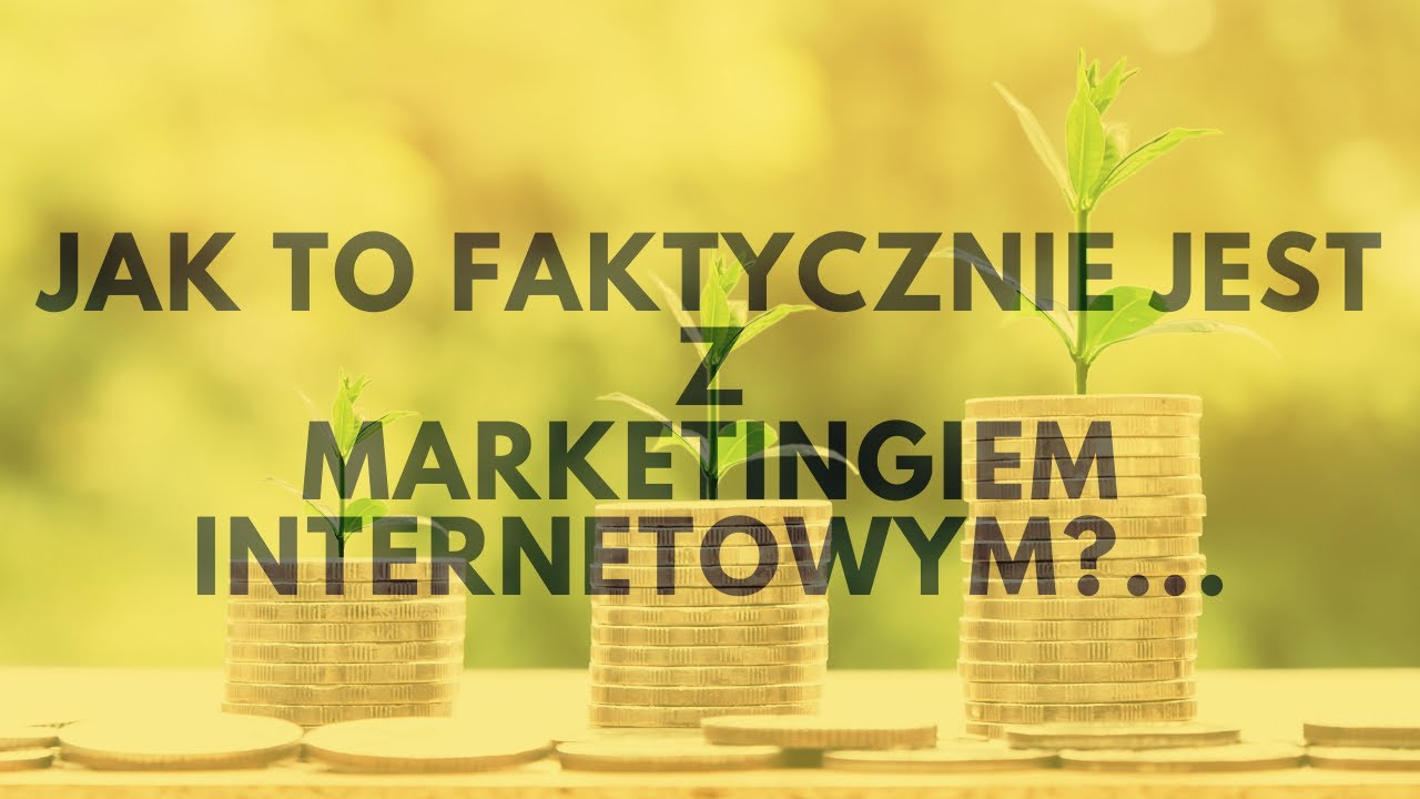 Praca W Domu, Czyli Jak To Jest Z Marketingiem Internetowym... | Tomasz M. Pietrzak