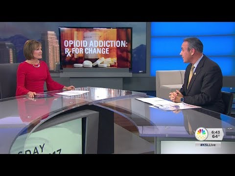 Nadine Wimmer sits down with DEA agent Brian Besser to discuss the opioid epidemic